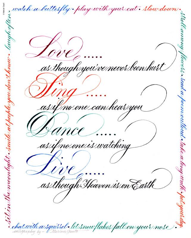 Calligraphy P1